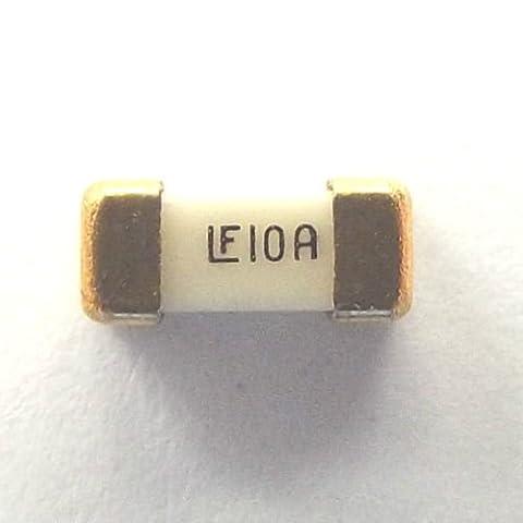 Fusible 10A 125V SMD marqués lf10a Action très rapide Nano littlefuse 0451010. MRL Taille 6.1mmx2.69mm