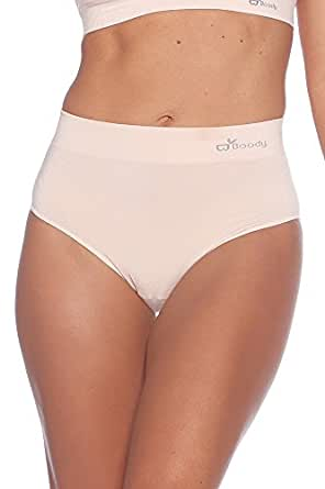 Boody Organic Bamboo EcoWear Womens Full Brief Small Beige