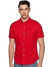 Levi's Men's Solid Regular fit Casual Shirt