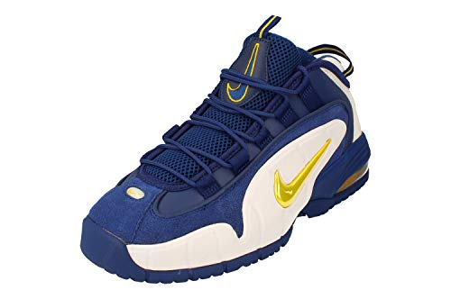 Nike Herren AIR MAX Penny Basketballschuhe, Mehrfarbig (DEEP ROYAL/Amarillo-White 401), 40 2/3 EU -