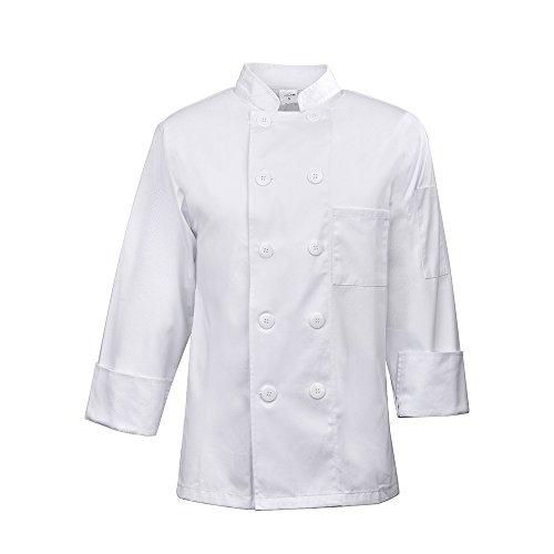Kochjacke, langer Arm, weiß (Ein Arm-chef)