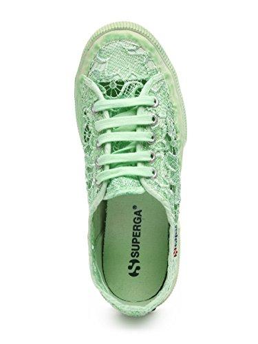 Superga 2750-Macramedyedw, Chaussures de Sport Femme Menthe