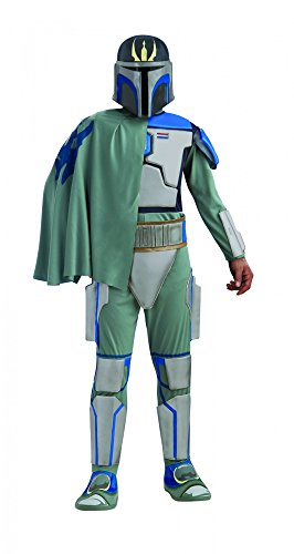 Star Wars Pre Vizsla Deluxe Kostüm für Herren, (Kostüm Vizsla Pre)