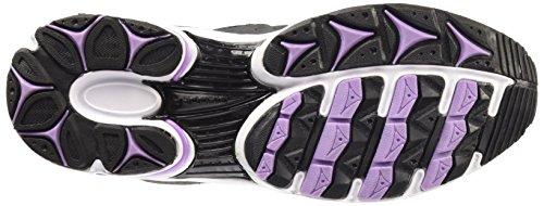 Diadora Unisex-Erwachsene Shape 4 Gymnastikschuhe, Grau Schwarz / Weiß