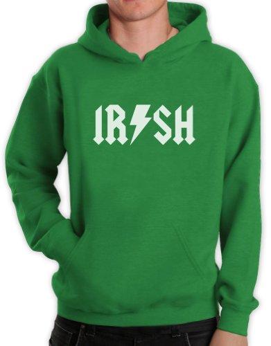 Green Turtle T-Shirts Irish Metal Grün X-Large Kapuzenpullover Hoodie -