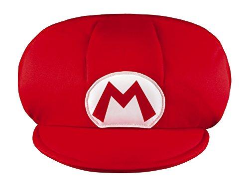 Super Mario–430068–Gorra Niño–Talla única–Rojo