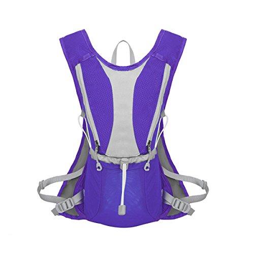 Outdoor Cross-country Di Idratazione Pacchetto In Esecuzione,SapphireBlue Purple