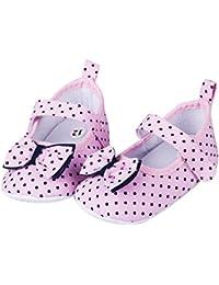 5717216e0fa82 Zapatos Bebe NiñO NiñA Rojo 1 Par De Zapatos De Bebé Zapatillas De Deporte  De Cuna Princesas para BebéS Y NiñOs PequeñOs Zapatos De Suela…