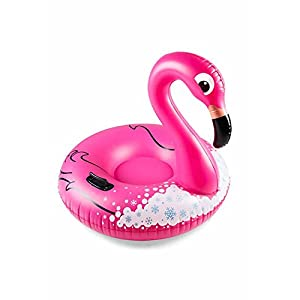 Unbekannt Big Mouth Toys TAST-0001 Big Mouth Snow Tube Flamingo, Mehrfarbig