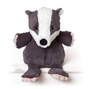 All Creatures Milton The Badger - Peluche de Peluche, tamaño Grande