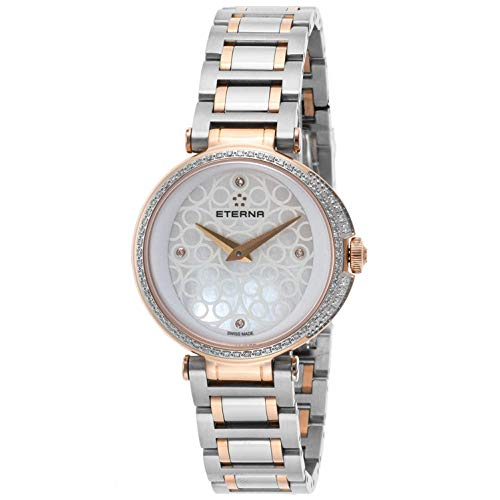 Eterna Women's 33mm Steel Bracelet & Case Quartz Analog Watch 2561-59-61-1724