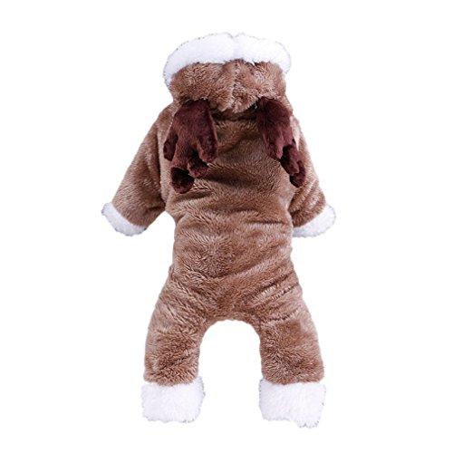 Weihnachtsdekoration Hundebekleidung Teddybär Xiong VIP Bomei kleine