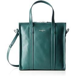 Balenciaga 443096, Borsa a Tracolla Donna, Verde (Vert Fonce), 15x29x28 cm (B x H x T)