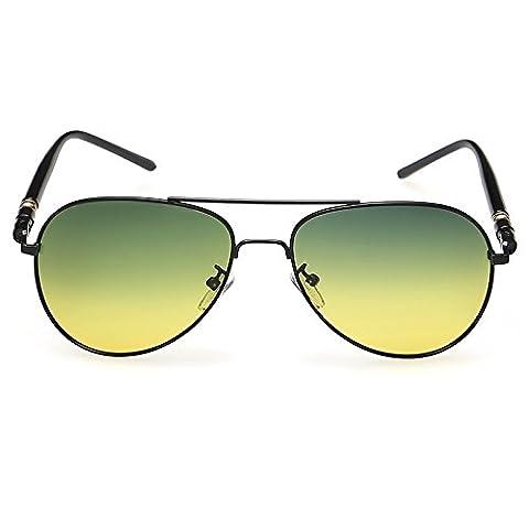 Nachtsichtgerät Großhandel Neue Polarisierten Dual Use Nachtsichtbrille Beleuchtung Tag Und Nacht Fahren Objektiv Sonnenbrillen Frosch Spiegel , 1