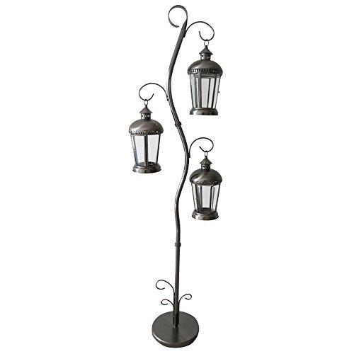 siena-garden-125867-laterne-lora-182-cm-aus-metall-silber