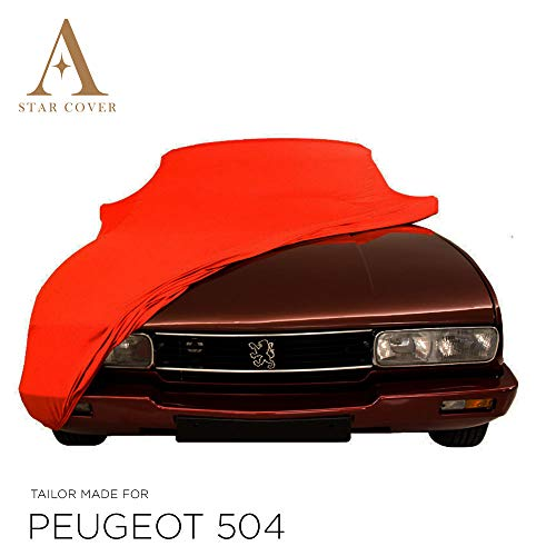 Star Cover Housse INTÉRIEUR Compatible avec Peugeot 504 COUPÉ |...