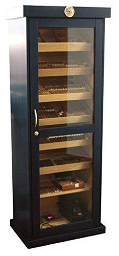 Humidor Schrank für 800 Zigarren - schwarz - Marke Humidoro