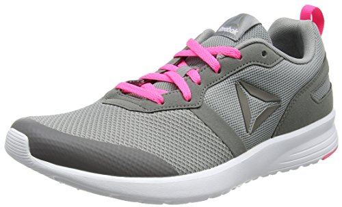 Running Chaussures White Poison Grey De Flat Pink Medium Gris Pewte QerBoxCdW