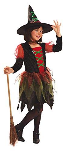 My Other Me Me - Disfraz de Brujita de colores para niñas, 5-6 años (Viving Costumes 200034)
