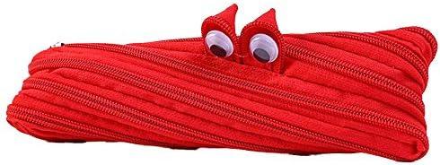 sse Monster Pencil Case Sac De Rangement Créatif Créatif Créatif Sac De Stylo en Toile Petits Monstres Sac à Glissière Beau Grand Papeterie Garçons Bleu Rose Rouge Jaune Rouge   D'ornement  fb56d2