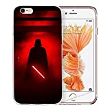 Blitz® Jedi Star Wars Schutz Hülle Transparent TPU Cartoon Comic iPhone  M1 iPhone 7/8