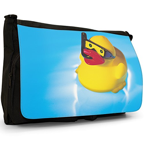 Fancy A Bag Borsa Messenger nero Rubber Duck Rubber Duck