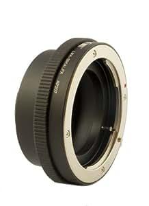 Adapter - Bague d'adaptation pour Sony / Minolta AF - montage sur Fuji X-PRO 1 (Baïonnette X) - avec levier du diaphragme