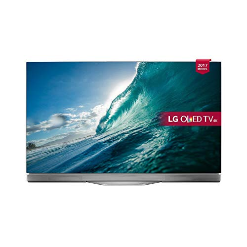 LG OLED55E7N 55-Inch Ultra HD 4K Smart OLED TV with webOS 3.5 - Silver/Black