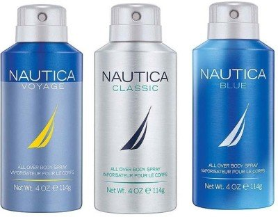 NAUTICA Pack of 3 Men Deo