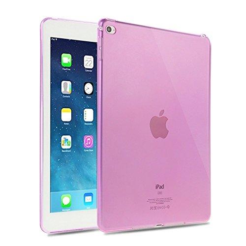 Haweel Slim Transparent TPU Schutzhülle für iPad Air 2 (Pink)