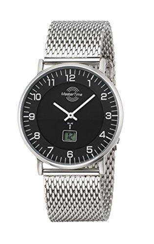 Master Time Funk Quarz Herren Uhr Analog-Digital mit Edelstahl Armband MTGS-10557-22M