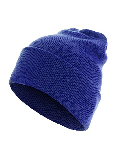 Masterdis Mstrds Beanie Basic Flap Long Version Cappellino Colore royal