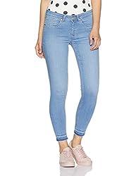 Allen Solly Womens Slim Jeans (AWDN517U00572_Medium Blue Solid_82)