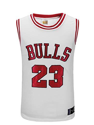 CHUANG Maglia da Uomo New York - Bull Jordan # 23 / Warriors # 35 / Lakers Kobe # 24 / Lakers James # / Ragazzi E Ragazze Appassionati di Pallacanestro