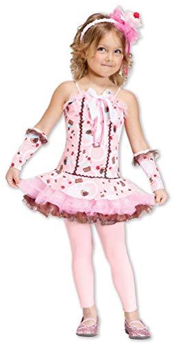 Cupcake Kinder Kostüm - Horror-Shop Cupcake Prinzessin Kleinkinder Kostüm