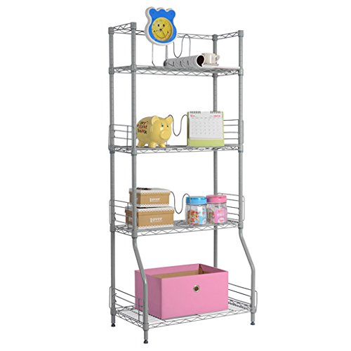 langria-4-tier-wire-bookcase-metal-shelving-for-home-organisation-office-storage-max-capacity-44lbs-