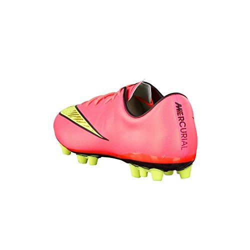Nike  Mercurial Veloce, Chaussures de Football Compétition homme - Rot (Hyper Punch/Black/Volt/Met. Gold Coin)