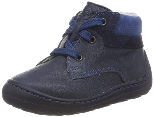 Superfit Baby Jungen SATURNUS 500336 Sneaker, Blau (Blau 80), 24 EU