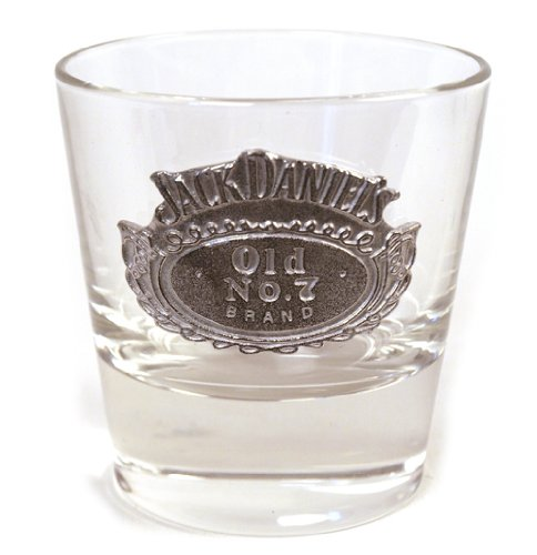 Jack Daniels Whiskyglas - rund