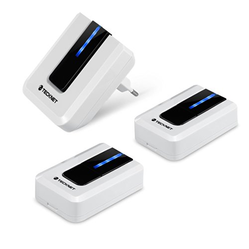tecknet-turklingel-portable-mobile-kabellose-1-empfanger-2-sender-kabellose-wassergeschutzte-tur-kli