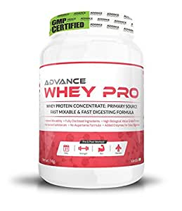 Advance Nutratech Advance Whey Pro Protein Powder 1Kg (2.2Lbs) Vanilla Flavour