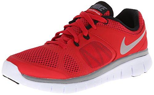 Nike Jungen Flex 2014 RN (GS) Laufschuhe, Rot/Grau/Schwarz/Weiß (Unvrsty Red/Cl Gry-Blk-Weiß), 40 EU