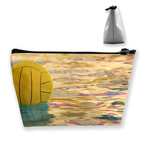 Trapez Reise Make-up Taschen Kulturbeutel Tragbare Stiftetui Fall Water Polo Makeup Bag