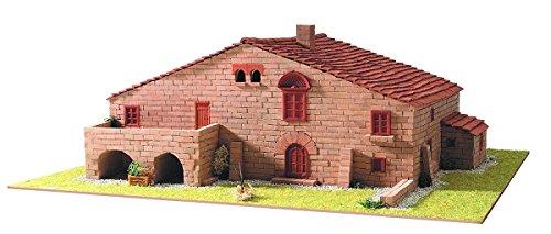 Keranova- Kit de cerámica Masía Catalana 1, Color marrón (30205)