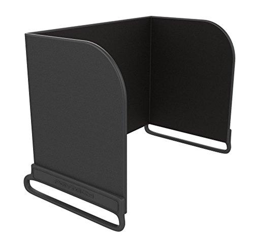 Preisvergleich Produktbild Youzone Fernbedienung Telefon Monitor Sun Haube Sonnenschirm Abdeckung Haube Smartphone Tablette iPad Sonnenschutz für DJI MAVIC PRO Inspire / PHANTOM 3 4 M600 OSMO Zubehör (L128mm, Schwarz)