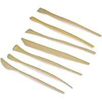 WEONE ABS di plastica che modella insieme di attrezzi del mestiere modellazione scultura in argilla ceramica (confezione da 7)