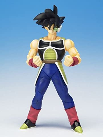 Dragonball Z BanDai Hybrid Action Mega Articulated 4 Inch Action Figure Bardock