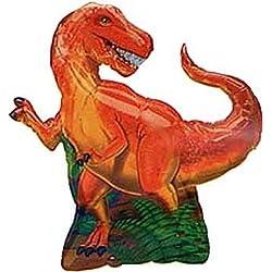 Dinosaurio Globo Metalizado (Con forma)