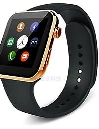 A99wearables Reloj Inteligente, llamadas manos libres/control de medios/Control de Mensajes/Control de la cámara para android y iOS