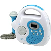 Soundmaster KR36BL - Radio/Radio-réveil MP3 Port USB avec fonction karaoké